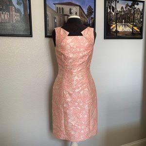 Tahari Brocade Dress Size 6